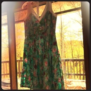 BRAND NEW Flamingo tropical dress